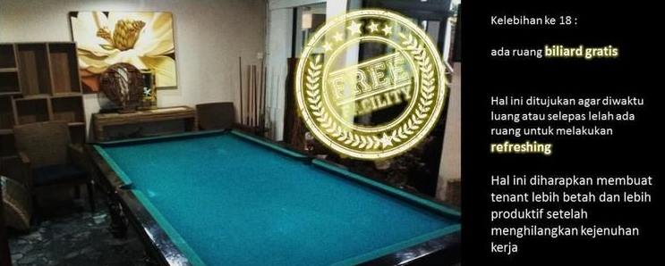 Area hiburan Billiard room